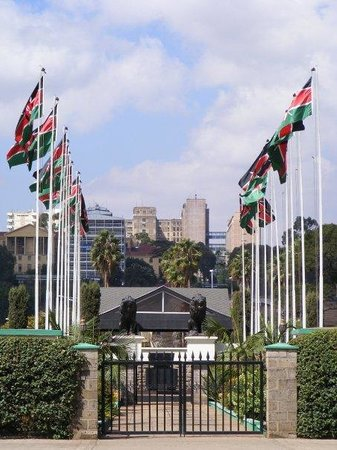 Kenyatta International Conference Center: The mausoleum of Jomo Kenyatta