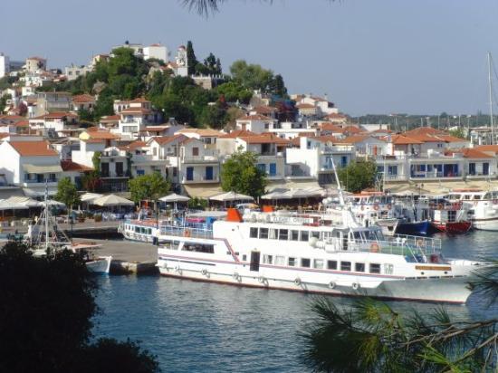 Skiathos Town ภาพถ่าย