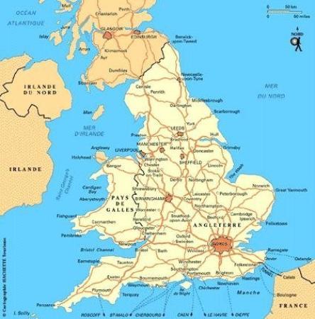 Carte De Langleterre Ville.Voyage A York Nord De L Angleterre A La Confluence De