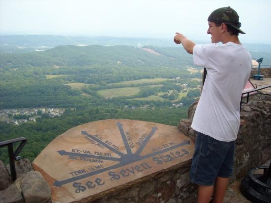 Lookout Mountain: I think it's that way. :P