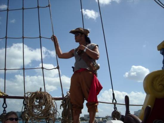 The Jolly Roger : Our Captain  ;p