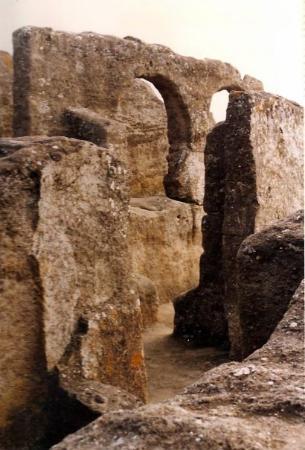 Ruinas de Bobastro. Ardales-Málaga. 1996