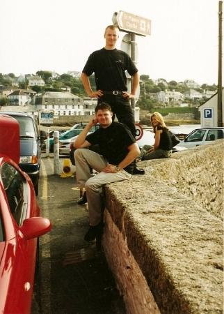 St Mawes, UK: Amazing collegues on a special job @ St. Mawes
