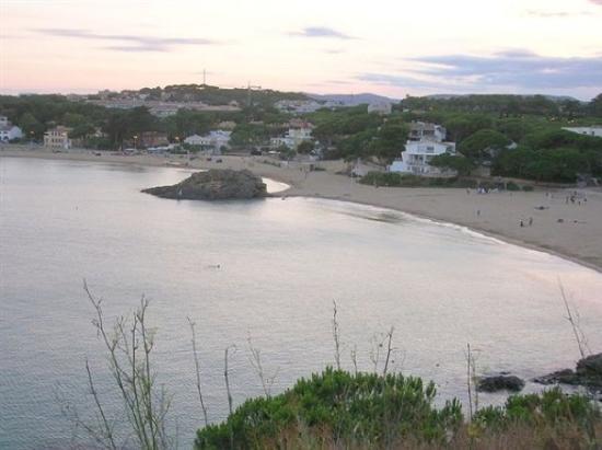 Palamos, Espagne : Notre plage.........