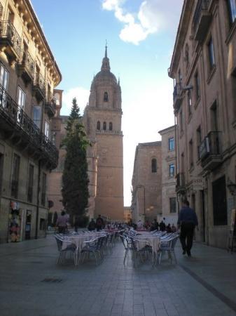 Old Cathedral (Catedral Vieja) : Las calles con encanto de Salamanca, con ese color dorado tan dulce