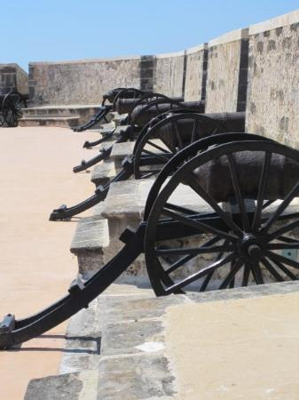 Fuerte-Museo San Miguel: Campeche - canons Fort San Miguel