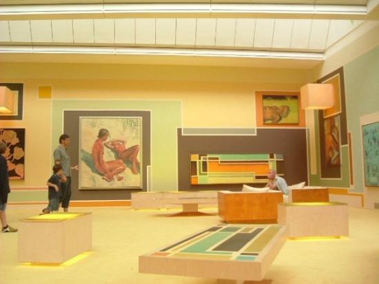 Museum of Modern Art (Museum fur Moderne Kunst) : Francoforte - Museo di Arte Moderna