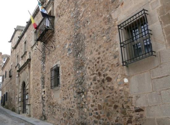 Cáceres, España: Palacio de Francisco Godoy. De estilo renacentista fue ordenado construir en 1548 por D. Franci