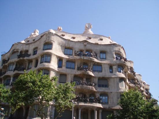 BARCELONA Haus von Gaud house of Gaud casa de Gaud