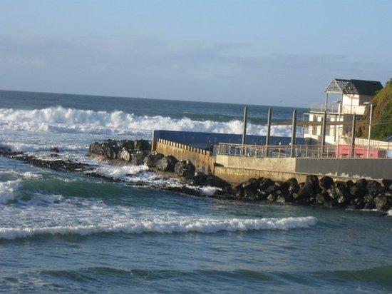 Dunedin Beach: Salt water pool, St Clair