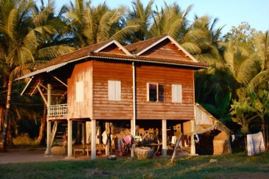 Houses In Cambodia Are Built On Stilts So They Won T Drown