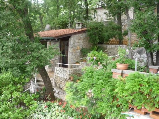 Moscenicka Draga, Kroatië: Unser Grillplatz