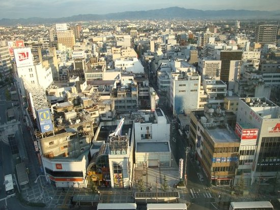 ToyohashiFrom the hotel - bird-eye view of ToyohashiDon't waste your time searching for skys