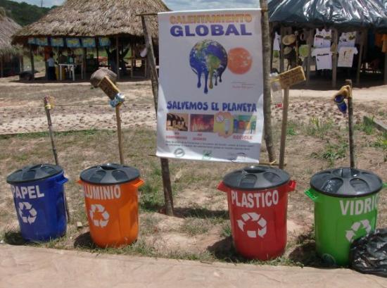 Santa Elena de Uairen, Venezuela: mas fino!!! deberiamos hacerlo todos!