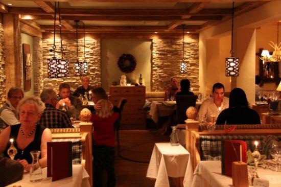 Hotel Alpin Spa Tuxerhof: Restaurant in het hotel