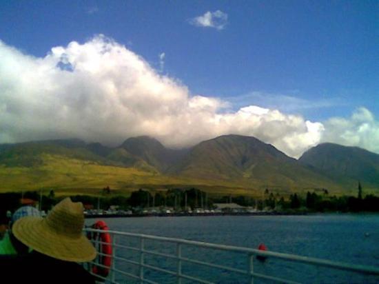 ลาไนซิตี, ฮาวาย: Leaving Lahaina via ferry.