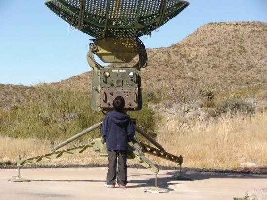 New Mexico Museum of Space History: Parece que no pone atención, pero sí. A veces.