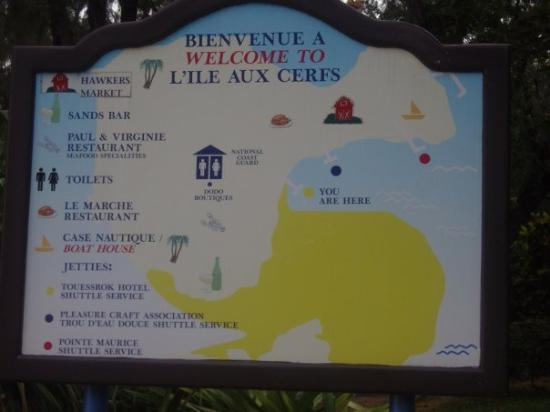 Île Maurice : Welcome to L'Ile Aux Cerfs!