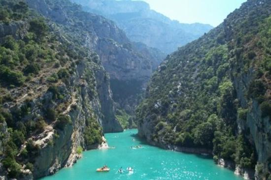 Castellane, France : [Gorges du Verdon]