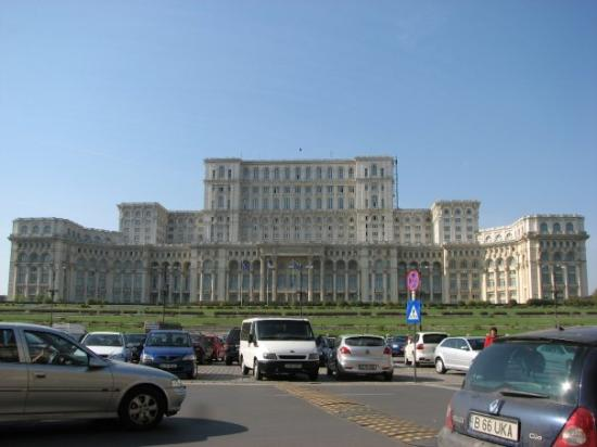 Palace of Parliament : The Romanian Parliment... the second biggest building in the world.