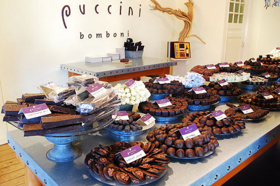 puccini bomboni, a small artisan chocolate shop in amsterdam
