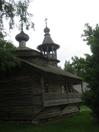 Veliky Novgorod, Rusia: at the woodcarving museum..