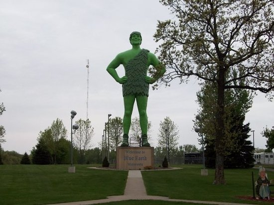 Green Giant Statue Park: Jolly Green Giant Statue