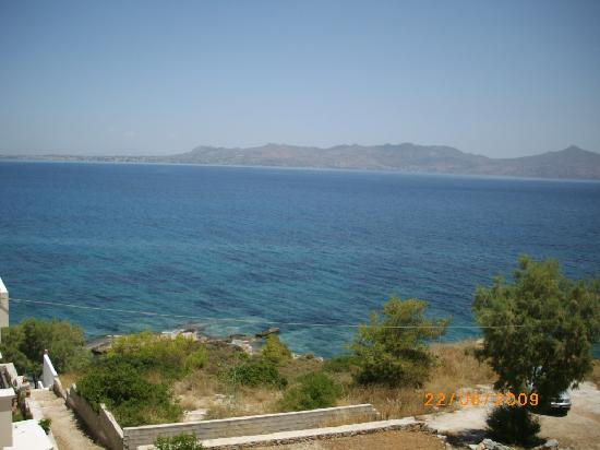 Hotel Dionysos: View from the hotel room
