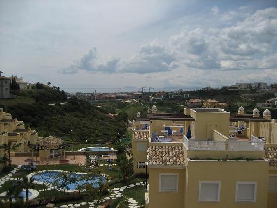 Colina Del Paraiso: Uitzicht van dak naar zee