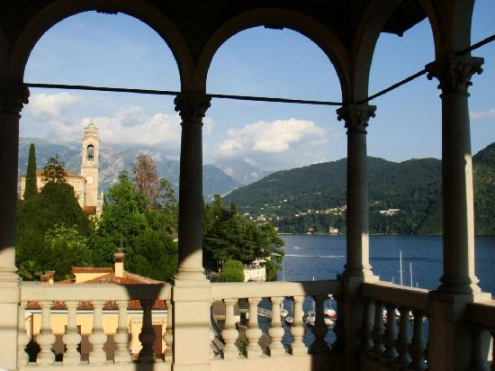 View from the roof terrace toward Tremezzo - Picture of Hotel Villa ...
