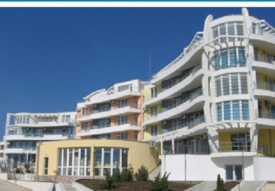 Kosharitsa, Bulgarije: View entering complex