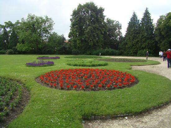 Lednice, Tsjekkia: Jardines