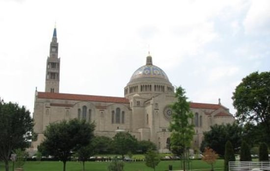 Washington DC, DC: National Shrine of Immaculate Conception