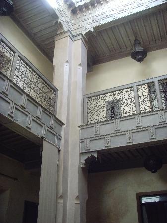 Riad Dar One: Courtyard