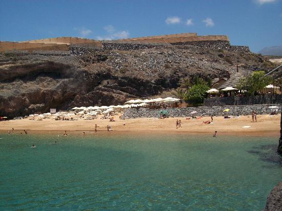 La playa picture of the ritz carlton abama guia de - Hotel abama tenerife ...
