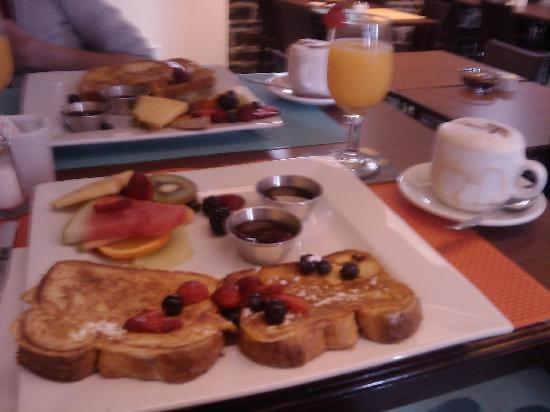 Hotel Le Vincent : Desayuno