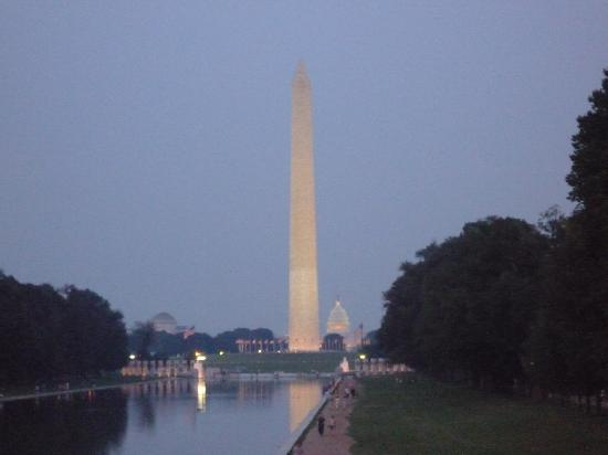 DC by Foot: View from the Lincoln Memorial
