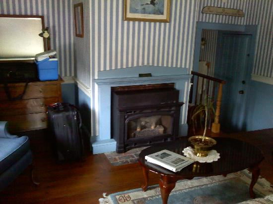 Chester House Inn: -fireplace for  those cozy moments