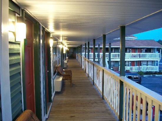 Rodeway Inn: secon floor