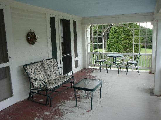 Wyoming, NY: the porch - room #3