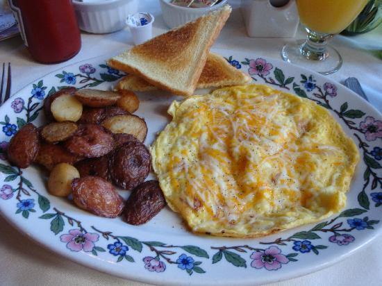Wyoming, NY: delicious breakfast