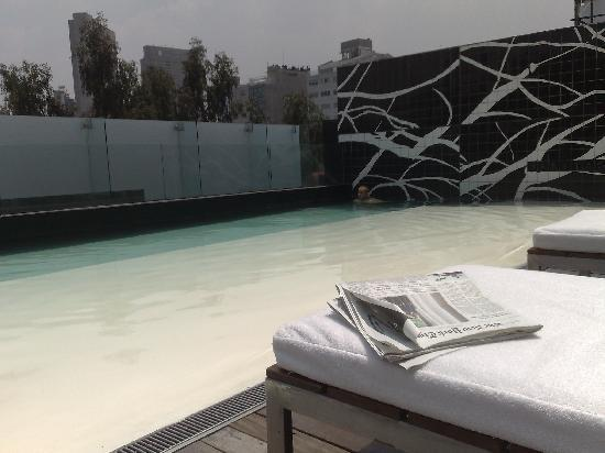 Hotel Habita: the pool... oh the pool!