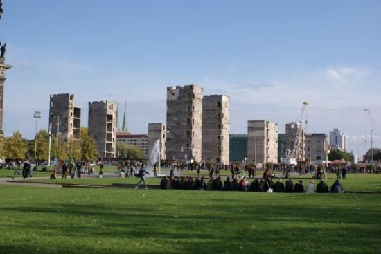 Berlijn, Duitsland: Estructura de millones de euros