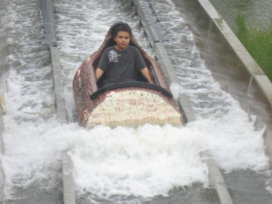Upper Clements Parks: Their log flume