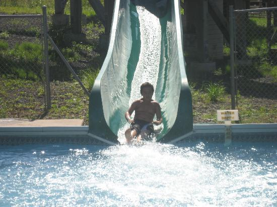 Annapolis Royal, Canada : Water slide