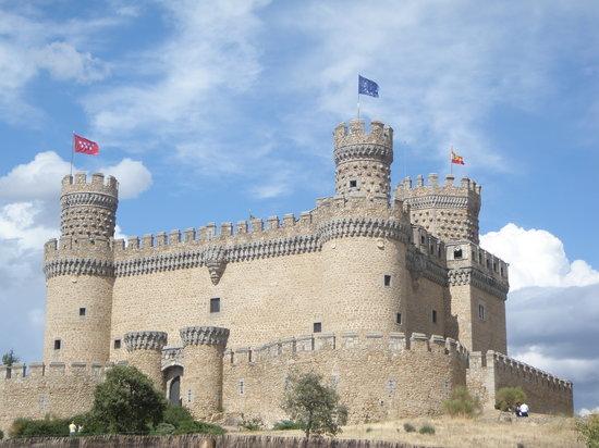 Castillo Nuevo, Manzanares El Real, Madrid, España.