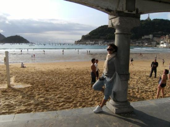 Playa de La Concha: spiaggia di san sebastian