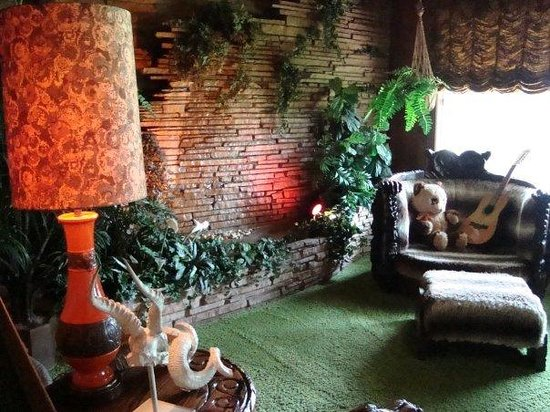 The Jungle Room With A Waterfall Wall Picture Of Memphis Tennessee Tripadvisor