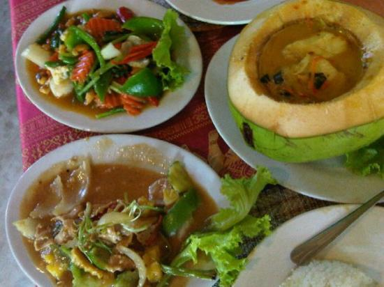 Siem Reap, Cambodia: Amok lunch