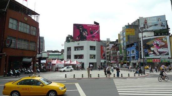Ximen Red House - Ximending: Ximending